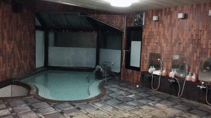 なかやま荘の温泉
