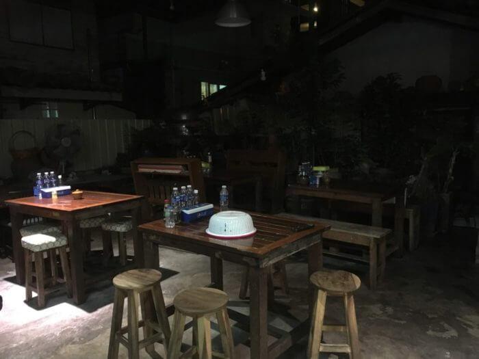 Classic room Restaurantの内部