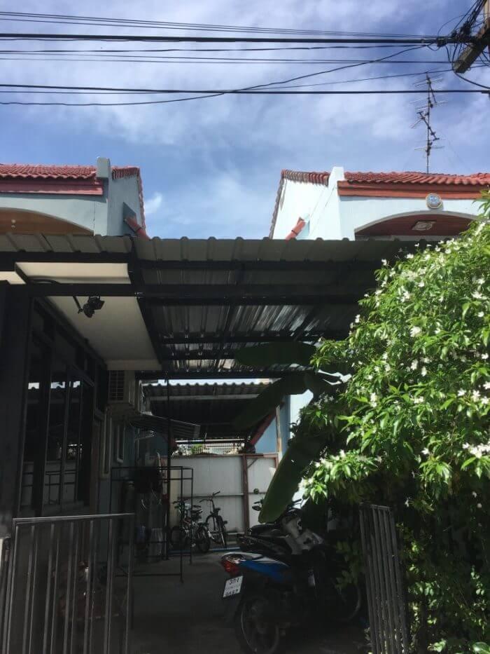 iSARAハウスの屋根