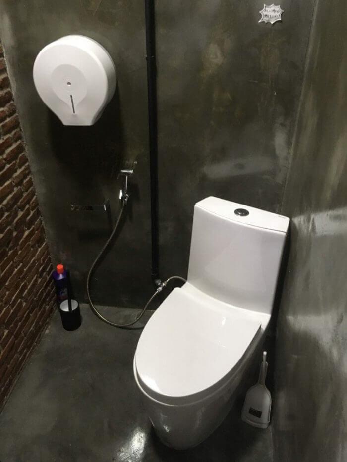 iSARAハウスのトイレ