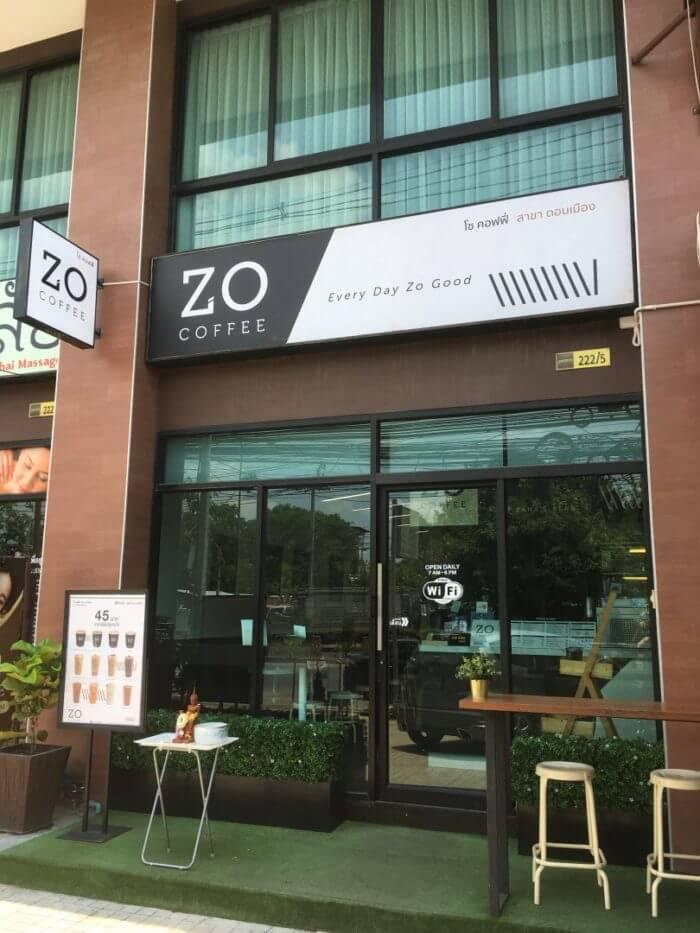 ZO COFFEEの外観