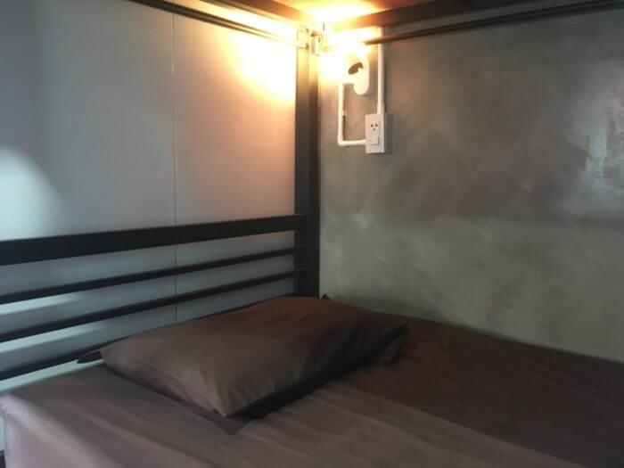 iSARAハウスのベッド