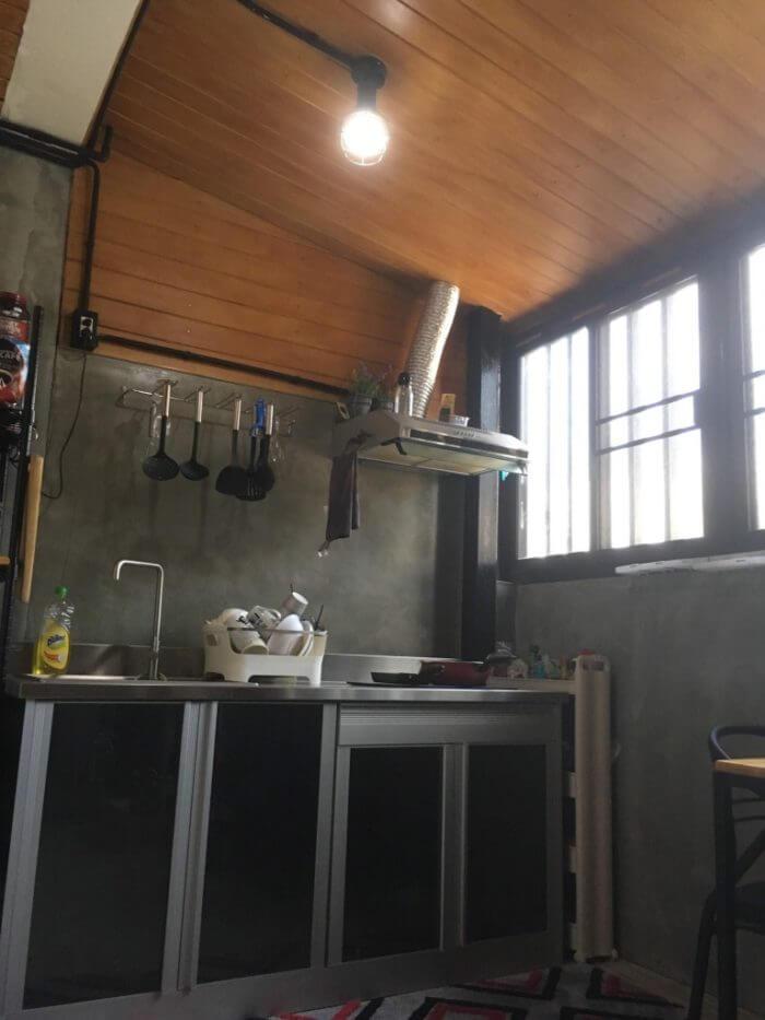 iSARAハウスのキッチン1