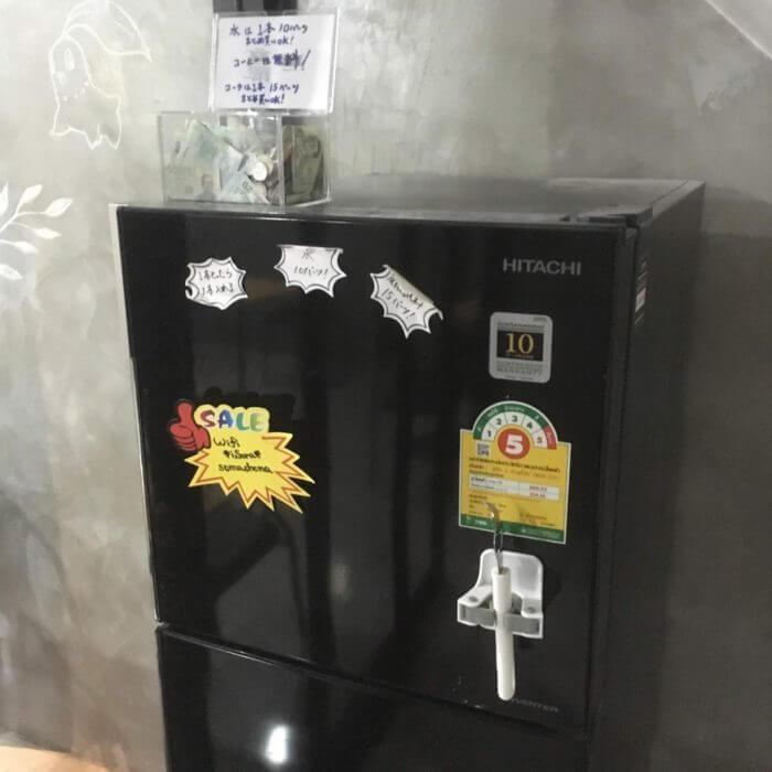 iSARAハウスの冷蔵庫